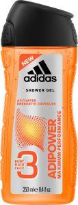 Adidas Adipower Shower Gel (250mL)