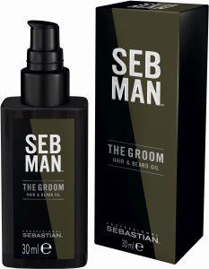 Sebastian SebMan The Groom Hair & Beard Oil (30mL)