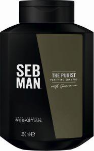 Sebastian SebMan The Purist Purifying Shampoo (250mL)