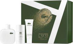 Lacoste Eau De Lacoste L.12.12 Blanc EDT (100mL) + Deostick (75mL) + SG (50mL)