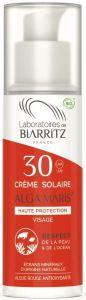 Laboratoires de Biarritz Certified Organic SPF30 Face Sun Cream (50mL)