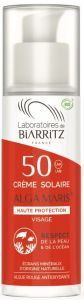 Laboratoires de Biarritz  Certified Organic SPF50 Face Sun cream (50mL)