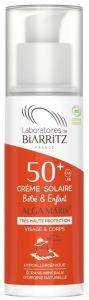 Laboratoires de Biarritz Certified Organic Baby/Child Sunscreen SPF50+ (100mL)