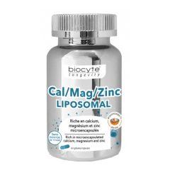 Biocyte Cal/Mag/Zinc Complex Liposomal (60pcs)