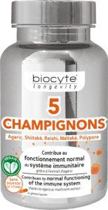 Biocyte 5 Champignons (30pcs)