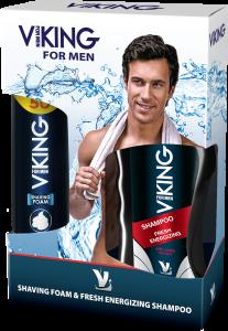 Viking Shaving&Shampoo Set for Men (250mL&300mL)