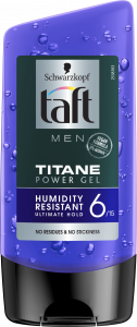 Taft Men Titan Look Power Gel (150mL)