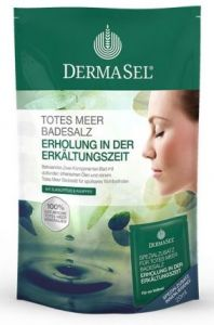 Dermasel Dead Sea Salt Cold Season Bath (400g+20mL)