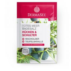 Dermasel Dead Sea Bath Salt Bath Back And Shoulders (80g)