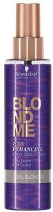 Schwarzkopf Professional Blond Me Tone Enhancing Spray Conditioner (150mL) Cool Blondes