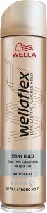 Wella Wellaflex Shiny Hold Ultra Strong Hold Hairspray (250mL)