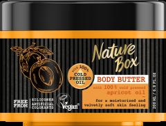 Nature Box Body Butter Apricot Oil Glow (200mL)