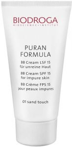 Biodroga Puran Formula BB Cream SPF15 Impure Skin (40ml) 01 Sand Touch