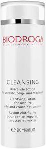 Biodroga Cleansing Clarifying Lotion Impure/Oily/Combination Skin (200mL)