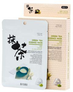 Mitomo Green Tea Essence Mask Box (6pcs)