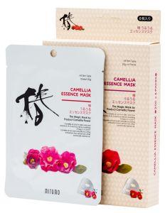Mitomo Camelia Essence Mask Box (6pcs)