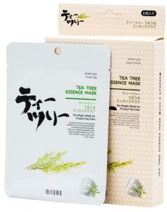 Mitomo Tea Tree Essence Mask Box (6pcs)