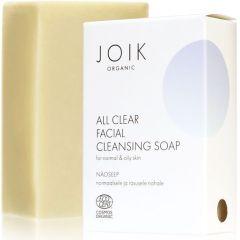 Joik Organic All Clear Näoseep Normaalsele/rasusele Nahale (100g)