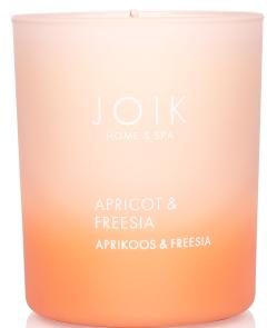 Joik Home & Spa Rapsivahast Lõhnaküünal Aprikoos & Freesia (150g)