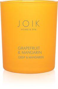 Joik Home & Spa Rapsivahast Lõhnaküünal Greip Ja Mandariin (150g)