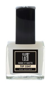 GlamLac Matte Top Coat for Nail Lacquer (15mL)