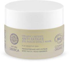 Natura Siberica Organic Certified Anti-fatigue Eye Patch-effect Mask For Sensitive Skin (50mL)