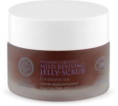 Natura Siberica Organic Certified Mild Reviving Jelly-Scrub for Sensitive Skin (50mL)