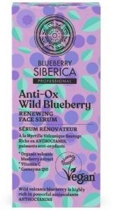 Natura Siberica  Anti-ox Wild Blueberry Renewing Face Serum (30mL)