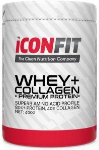 ICONFIT Whey+ Collagen (400g) Chocolate