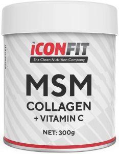 ICONFIT Msm Collagen W. Vitamin C (300g) Unflavoured