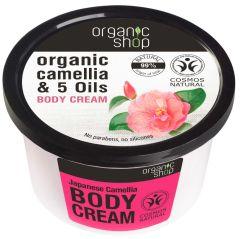 Organic Shop Body Cream Japanese Camellia Cosmos Natural BDIH (250mL)
