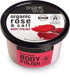 Organic Shop Body Polish Pearl Rose Cosmos Natural (Bdih)(250mL)
