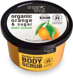 Organic Shop Body Scrub Sicilian Orange Cosmos Natural BDIH (250mL)