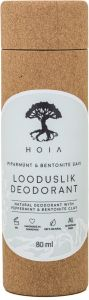 Hoia Homespa Natural Deodorant with Peppermint & Bentonite Clay (80mL)