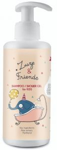 Zuze & Friends Shampoo/Showergel (250mL)