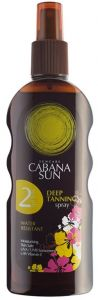 Cabana Sun Deep Tanning Oil Spray SPF2 (200mL)