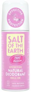 Salt of the Earth Peony Blossom Natural Roll On Deodorant (75mL)