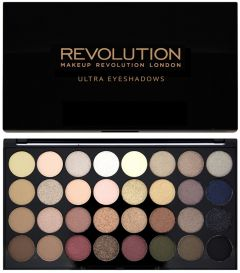 Makeup Revolution Ultra Eyeshadows Palette (16g) Flawless