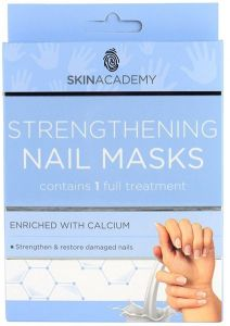 Skin Academy Strengthening Nail Mask With Calcium (2x5pcs)