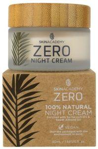 Skin Academy Zero Night Cream 100% Natural With Sacha Inchi Oil And Sweet Almond Oil (50mL)