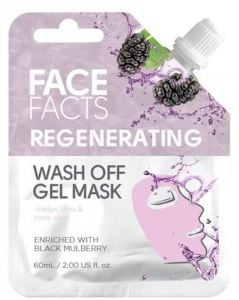 Face Facts Regenerating Wash Off Gel Mask with Black Mulberry (60mL)