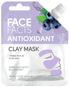 Face Facts Antioxidant Clay Mask with Blueberry (60mL)