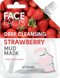 Face Facts Deep Cleansing Strawberry Mud Mask (60mL)