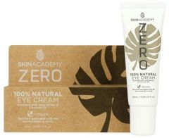 Skin Academy Zero Eye Cream 100% Natural With Coconut Oil And Shea Butter (25mL)