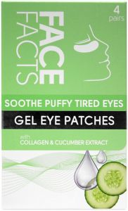 Face Facts Soothe Puffy Tired Eyes Gel Eye Patches (4pair)