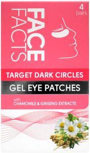 Face Facts Target Dark Circles Gel Eye Patches (4pair)
