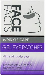 Face Facts Wrinkle Care Gel Eye Patches (4pair)