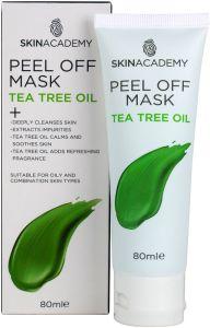 Skin Academy Indulge Peel Off Mask Tea Tree Oil (80mL)