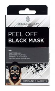 Skin Academy Peel Off Black Mask (4pcs of 8mL)