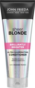John Frieda Sheer Blonde Brilliantly Brighter Ultra Illuminating Conditioner (250mL)